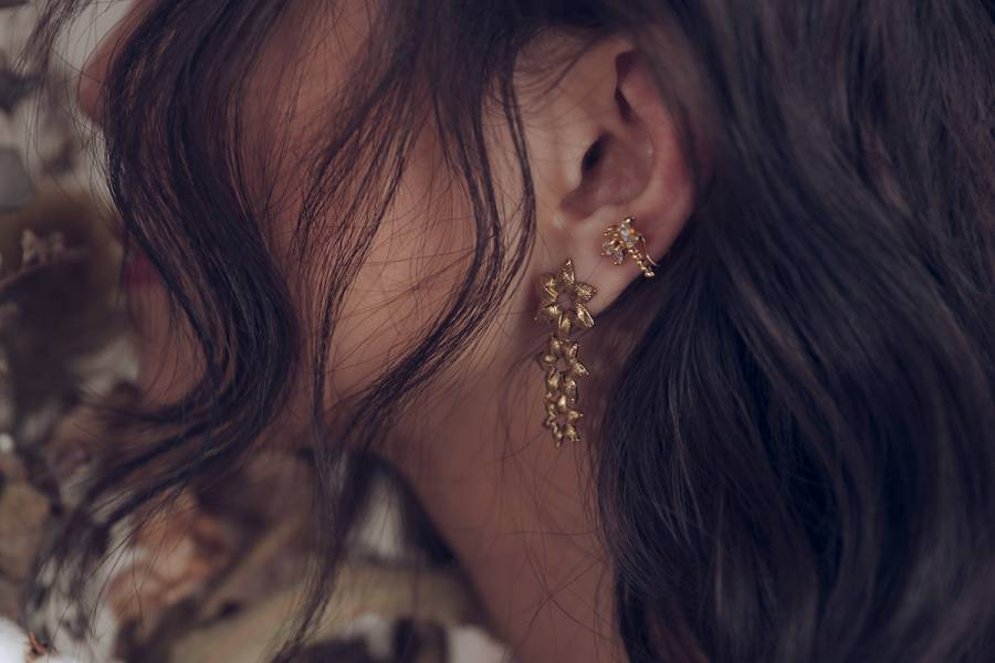 PURE Series – Moonflower * Fairy earring & ear cuff Fairy earring  ear cuff  wedding