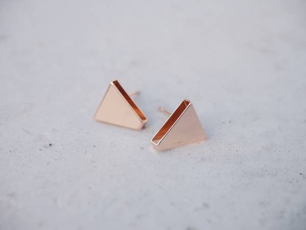symmetrical-a pair of triangle earrings < once upon a time*earrings > symmetrical earrings