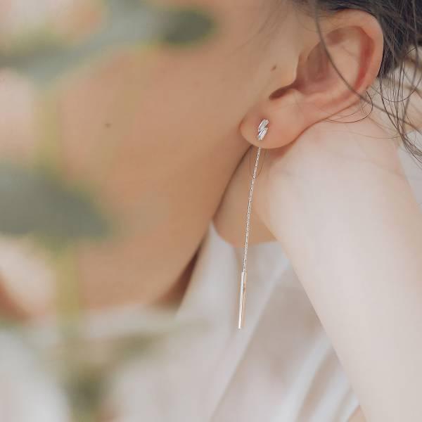 ONCE LITE | 空氣系 - 浮光耳環 2 * 三款 幾何耳環 後扣耳環 抗敏耳環 玫瑰金耳環 耳環 耳針 貼式耳環 銀色耳環 鋯石耳環