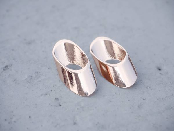 對稱耳環 - 五款 幾何 對稱耳環