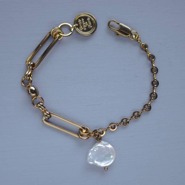 Hydromancy | 水占術系列 - 海洋氣息 * 手鍊 天然珍珠 手鍊 巴洛克變形珠