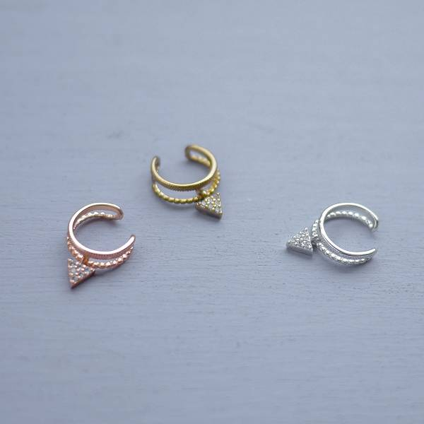 elepathy Series- Telaesthesia ear cuff* 3 colours 幾何 迷你 耳骨夾