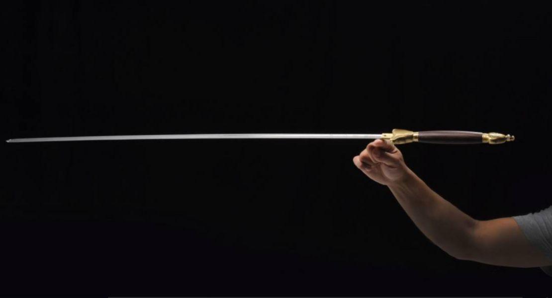 沈廣隆客製彈簧鋼劍