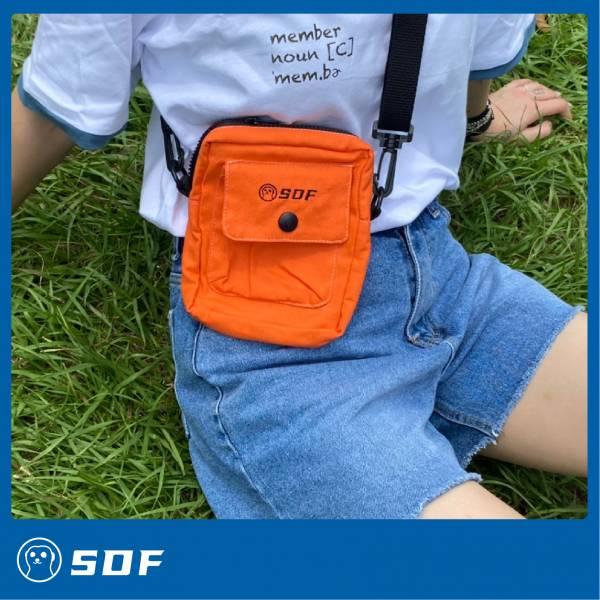 呼叫獴獴包 狐獴,小隊福,小隊服,配件,側包,橘包,環保,時尚