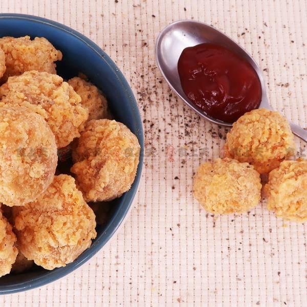 骰子雞 骰子,雞,雞球,原味,辣味
