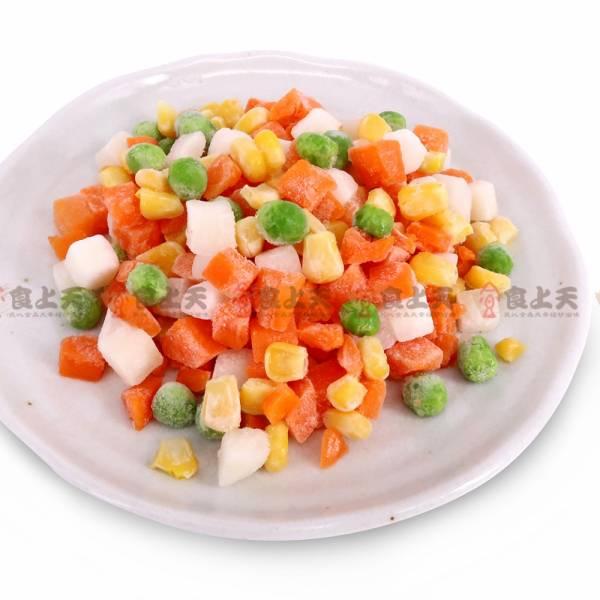 冷凍四色蔬菜 冷凍,四色,蔬菜,馬鈴薯,玉米,紅蘿蔔,碗豆