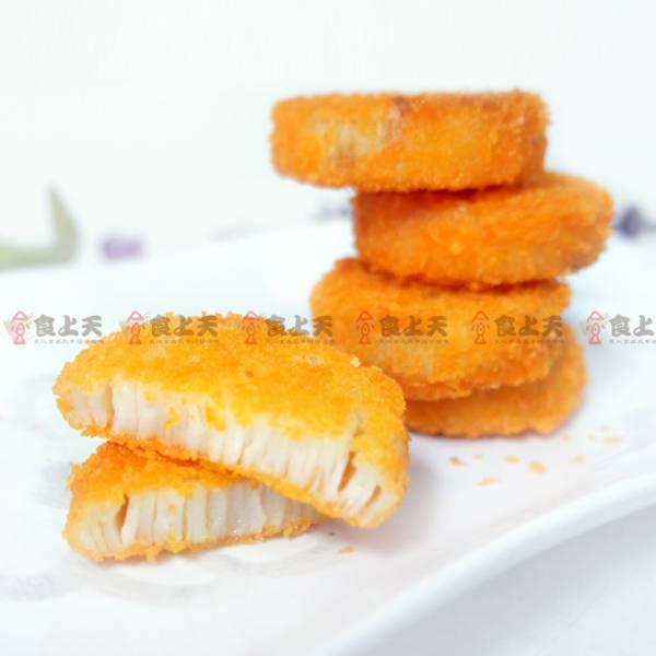 川島干貝酥 干貝,魚漿,紮實,炸物