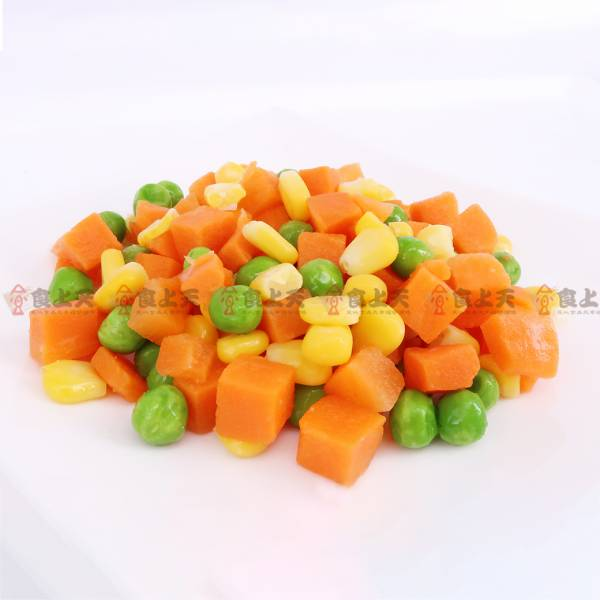 冷凍三色蔬菜 冷凍,三色,蔬菜,玉米,紅蘿蔔,碗豆