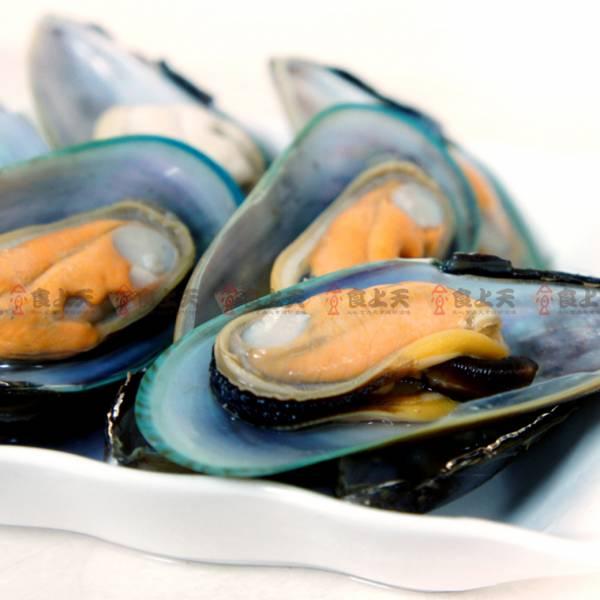 紐西蘭綠殼淡菜(半殼) 淡菜,貽貝,海鮮
