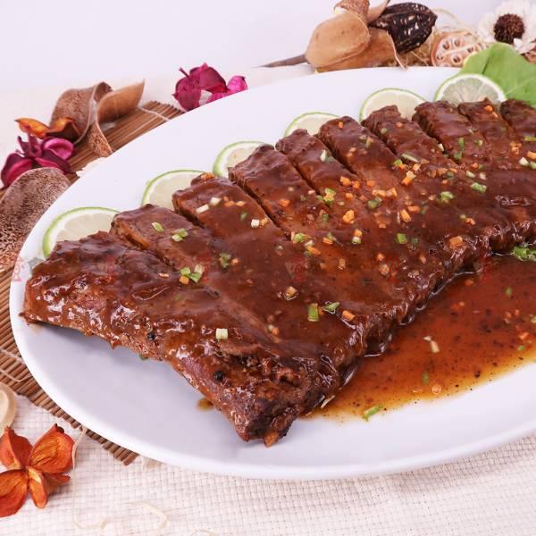 黑胡椒燒嫩排(肋排) 覆熱即食,黑胡椒,肋排,熟食,豬肉