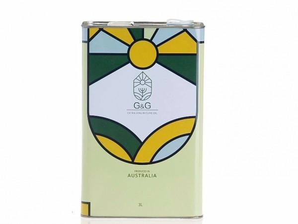 澳根尼特級冷壓初榨橄欖油3L  4罐 [ 一箱 ] 橄欖油,澳根尼橄欖油,台灣人的橄欖油,澳洲橄欖油