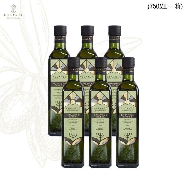 澳根尼特級冷壓初榨橄欖油【750ml*6瓶】(效期2022.05.01) 橄欖油,澳根尼橄欖油,AUGANIC,冷壓初榨橄欖油