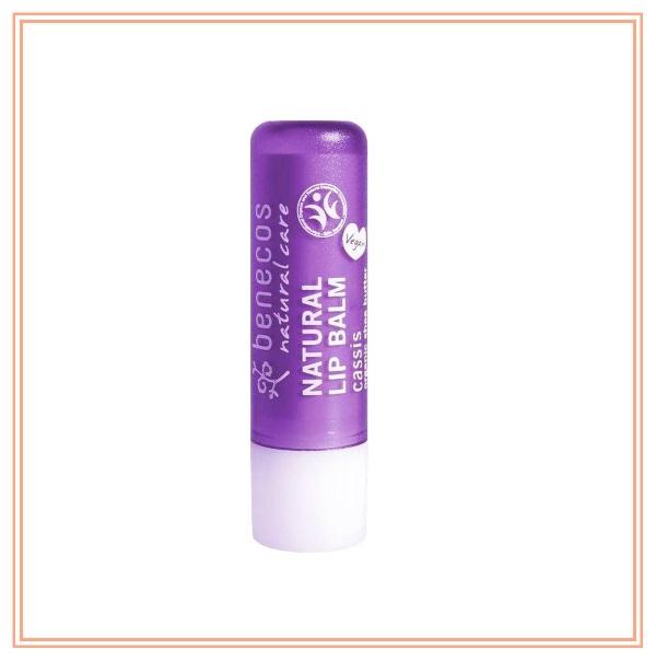 Benecos Natural Lip Blam- Cassis 4.8g  benecos, 天然有機潤唇膏, 唇部護理
