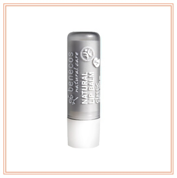 Benecos Natural Lip Blam- Classic 4.8g  benecos, 天然有機潤唇膏, 唇部護理