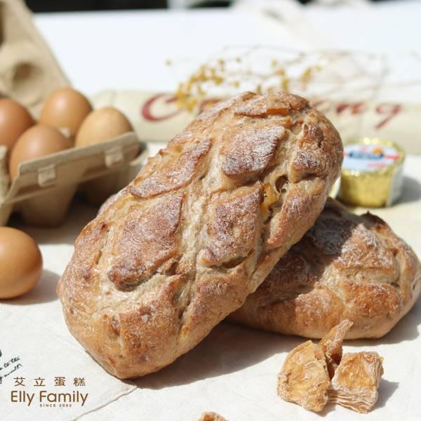 裸麥麵包-鳳梨核桃
