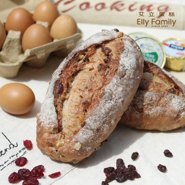 裸麥麵包-綜合果乾核桃