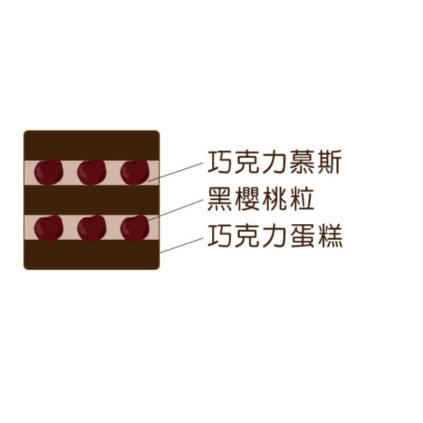 【裸蛋糕】櫻桃巧克力