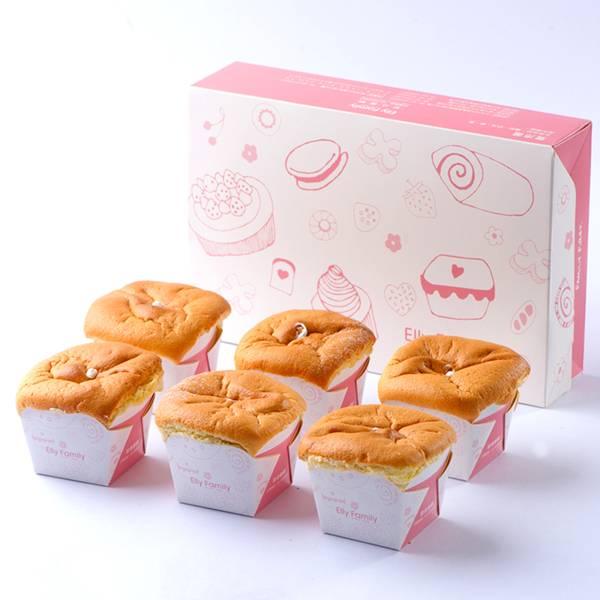 牛奶戚風禮盒 杯子蛋糕,新竹伴手禮必買,明星熱門產品