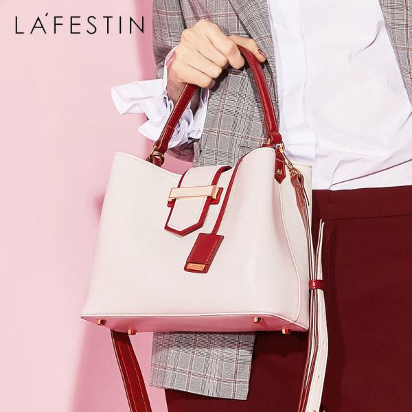 【法國Lafestin - 2018秋冬新款】巴黎新都會簡約時尚方包 / 橫款 (LadyA正品獨家代理)