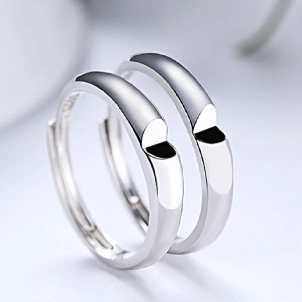 925純銀對戒 - 相愛相隨.可調戒.情侶戒 LadyA 飾物女王,LadyA ,925純銀戒指,鋯石戒指,電鍍白金,情侶戒指,簡約,優雅,時髦,休閒,