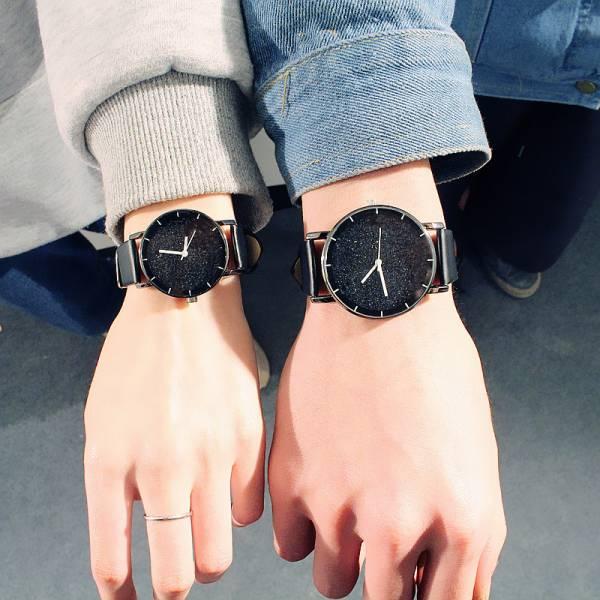 [韓國] 閃亮星空情侶對錶