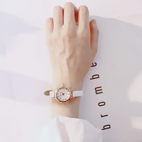 [韓國]女生小錶盤手錶女學生韓版潮流時尚簡約復古小巧細表帶女錶小清新