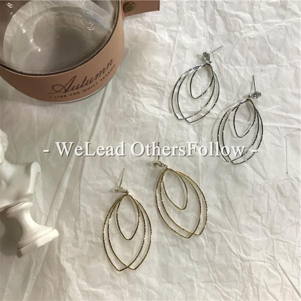限量 |  韓國東大門鏤空鑽石復古耳飾