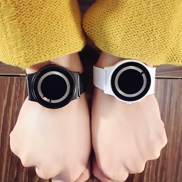 [韓國] 穿越未來 · 概念手錶|無指針簡約時尚手錶