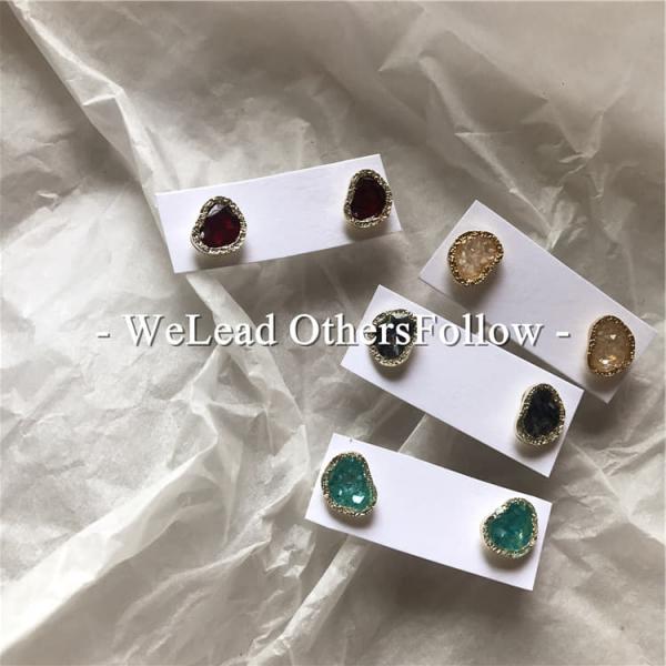 限量 | 韓國設計精緻滴油唯美耳環