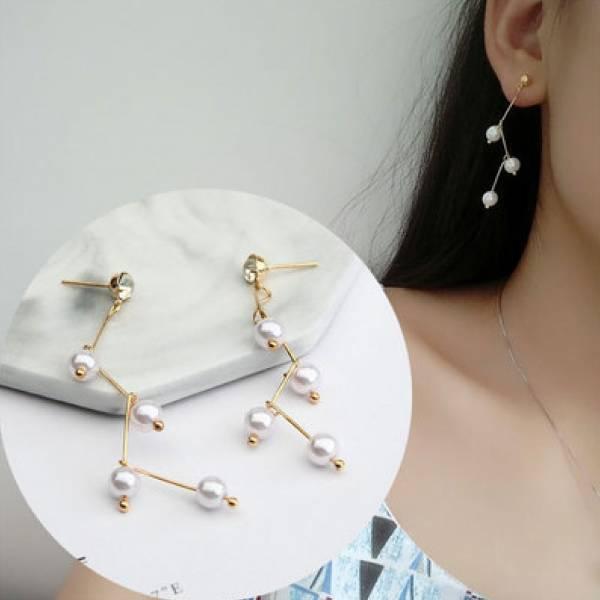 珍珠交響進行曲耳環
