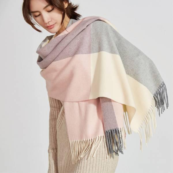 2019新款主打-春日裡的暖陽經典羊毛圍巾