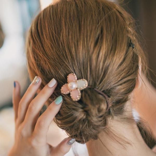 水晶小花園髮束