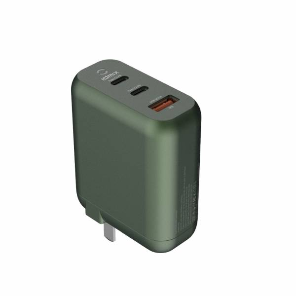 idmix 氮化鎵 PD 65W 智能充電器-綠色