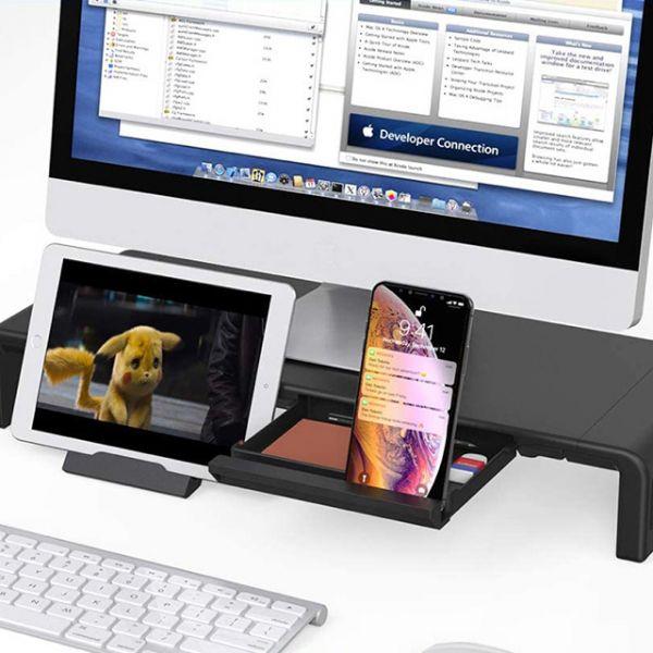 MONO DSIGN三段式延長電腦營幕收納支架6063