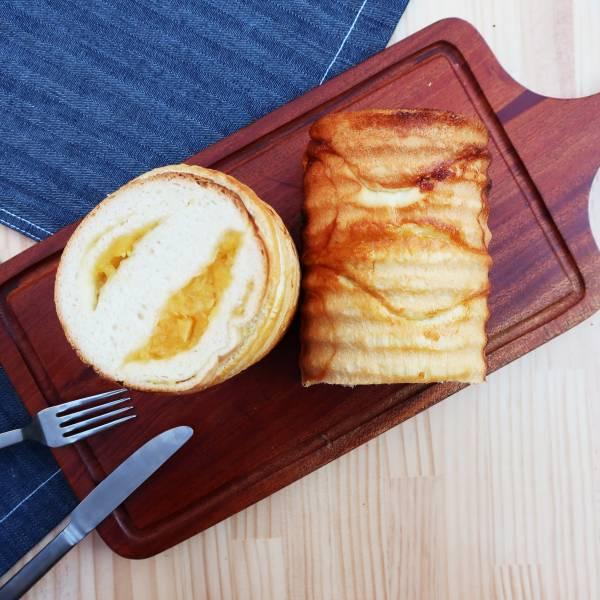 花蓮瑞穗富興土鳳梨+原味蜂蜜生吐司設計禮盒(此為雙吐司+果醬禮盒,請詳讀訂購資訊)