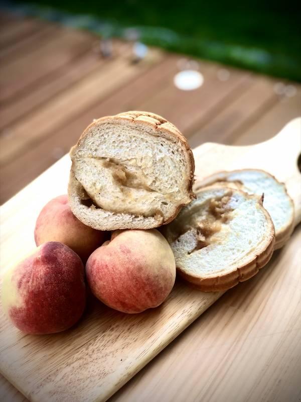 梨山水蜜桃生吐司(季節限量產品)