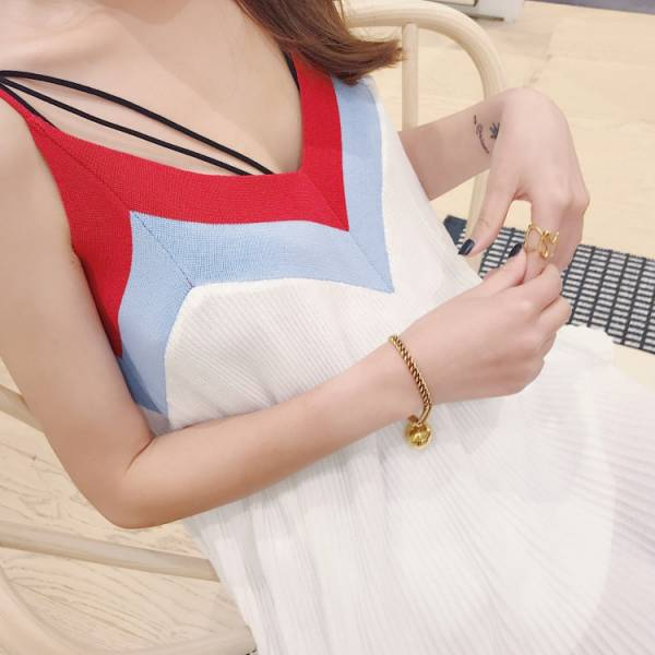 V領度假短裙 渡假洋裝,短裙,短洋裝,兒童洋裝