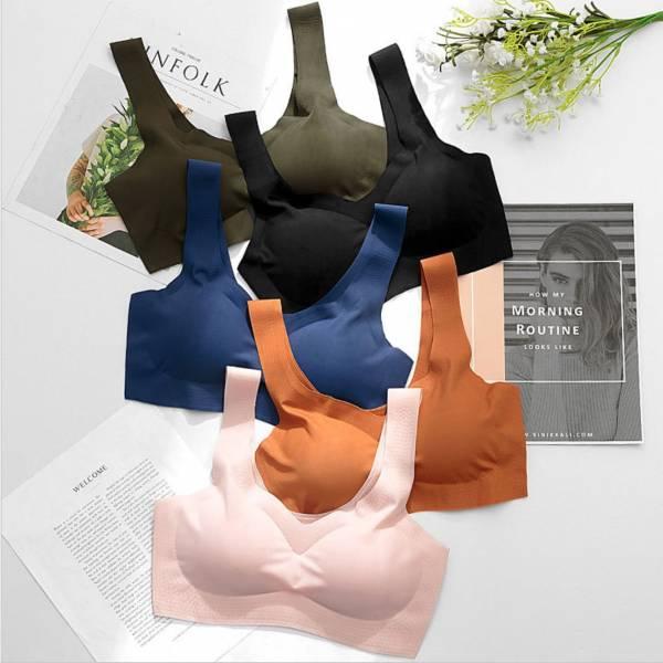 無痕無鋼圈無束縛運動瑜伽內衣(5色可選) 內衣,美胸內衣,集中內衣,性感內衣