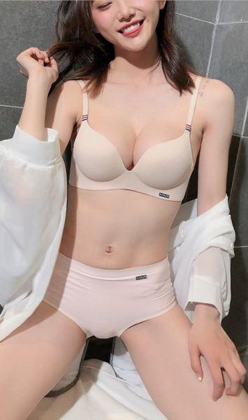小胸專屬超厚無痕一片式無鋼圈內衣(膚) 內衣,美胸內衣,集中內衣,性感內衣