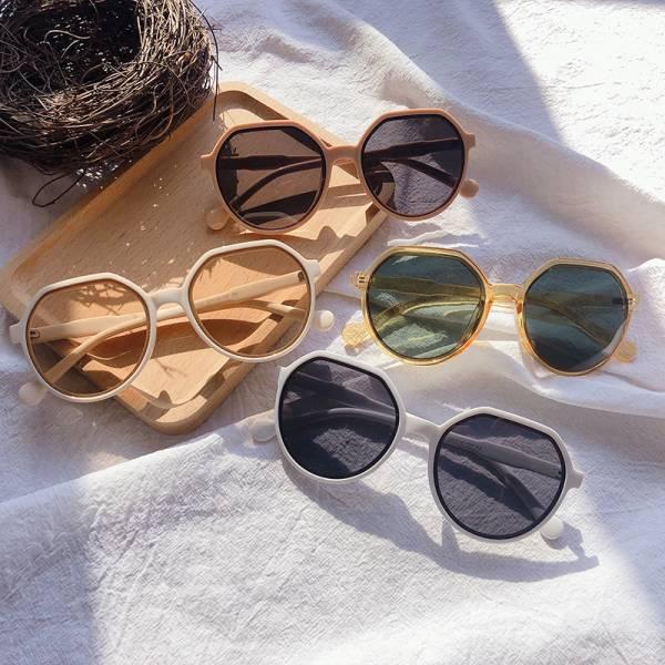 韓系圓框太陽眼鏡7色 太陽眼鏡