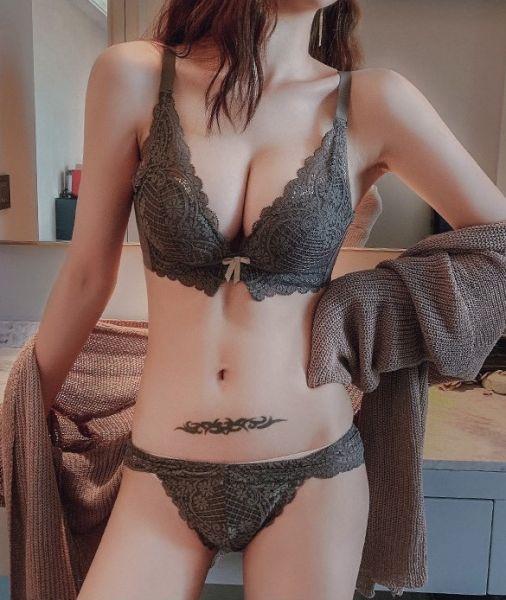 深V集中美胸內衣(灰) 內衣,美胸內衣,集中內衣,性感內衣