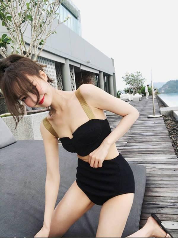 韓版集中兩截式泳衣 比基尼,泳裝,泳衣