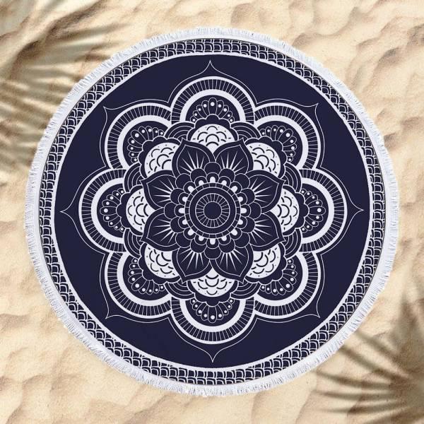 日系圖騰沙灘巾 沙灘巾