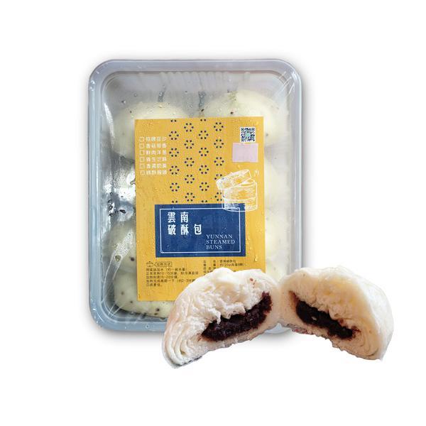 破酥包8入裝(經典豆沙) 破酥包,雲南點心,包子,宅配美食,團購美食,阿美米干,阿美金三角點心店