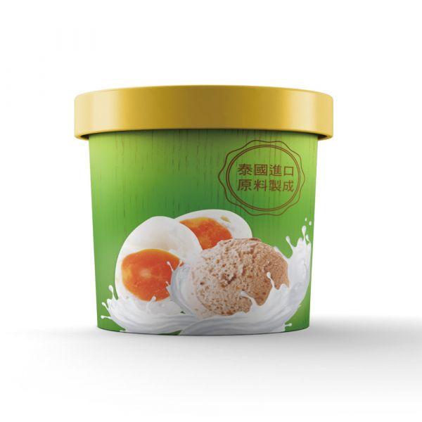 【泰椰】金沙鹹蛋冰淇淋 (100ml) 椰子,冰淇淋,gelato,洽圖洽,泰國,曼谷,泰式,泰奶,泰式奶茶,夏天,冰,椰奶,椰漿,椰子水,熱,消暑