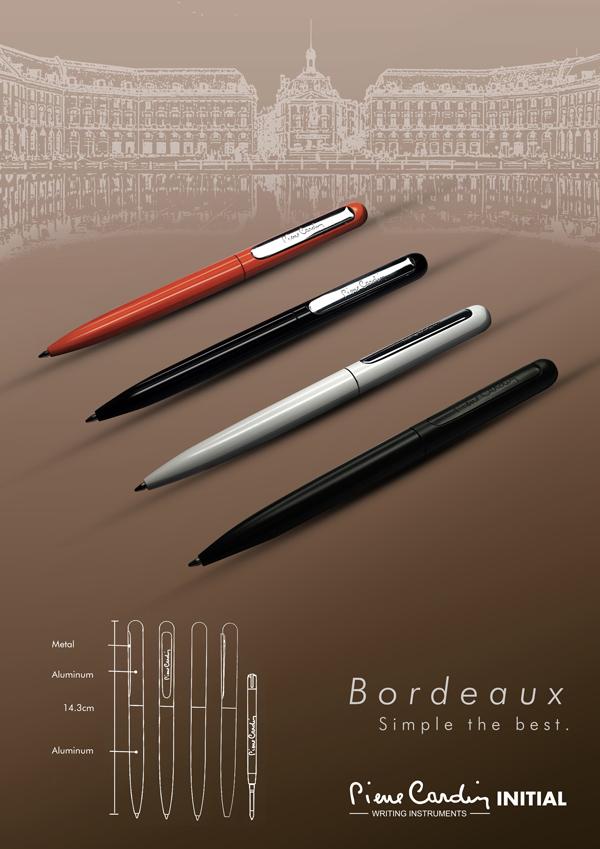 【皮爾卡登】Bordeaux 原子筆、鋼珠筆