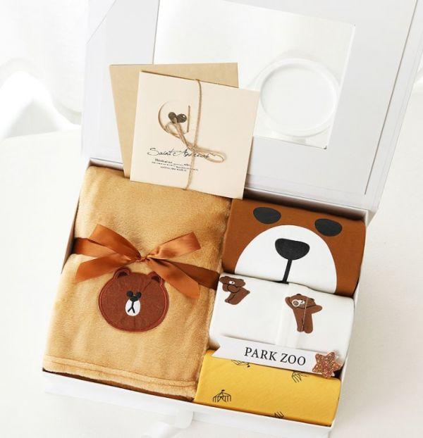 BV01596 寶寶禮盒 熊大寶寶彌月週歲禮盒 寶寶,禮盒,熊大,彌月,週歲,