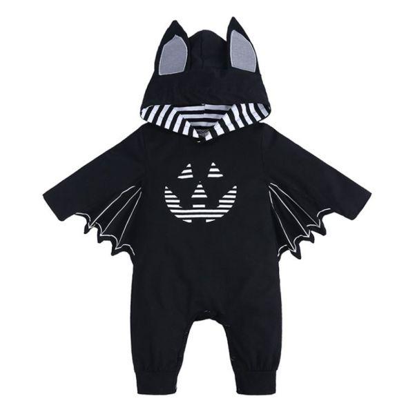 BV01658 秋冬新款 萬聖節變裝趴 小蝙蝠造型長袖連身衣 (2款) 秋,冬,新款,萬聖節,變裝,蝙蝠,長袖,連身衣,halloween,