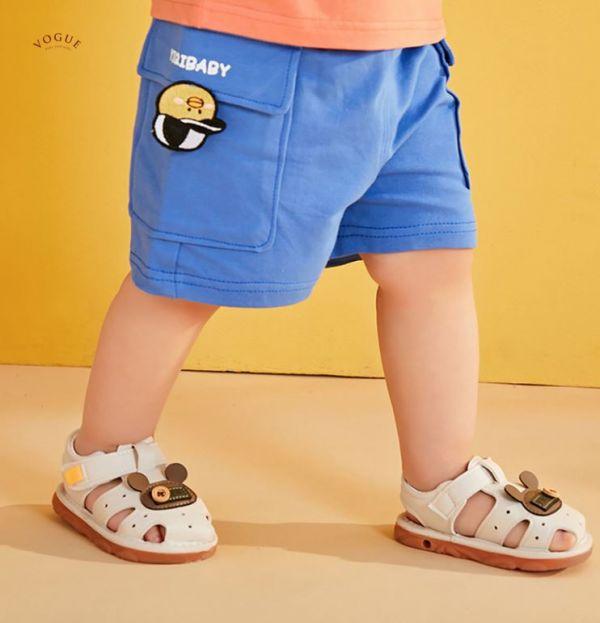 BV01551 春夏新款 卡哇依純棉口袋卡通造型短褲 (4色) 純棉,口袋,卡通,造型,短褲,