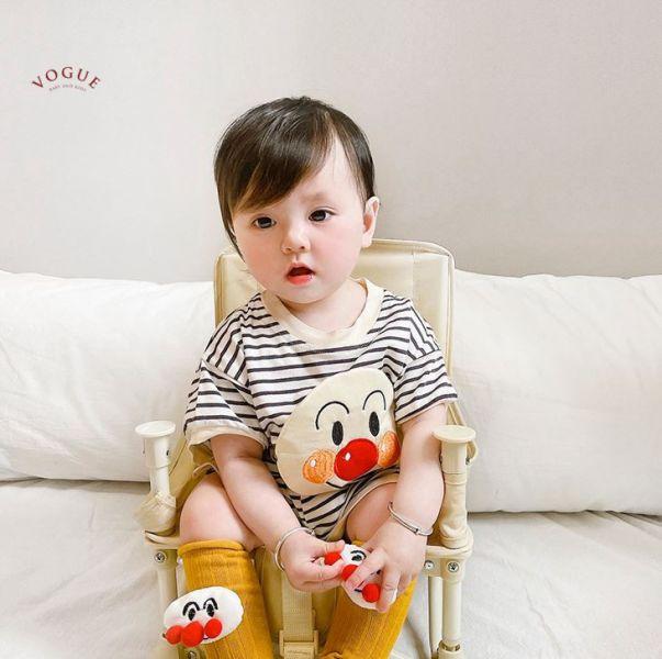 BV01560 春夏新款 麵包超人/馬力歐寶寶短袖+短褲套裝 (2款) 麵包超人,馬力歐,寶寶,短袖,短褲,套裝,